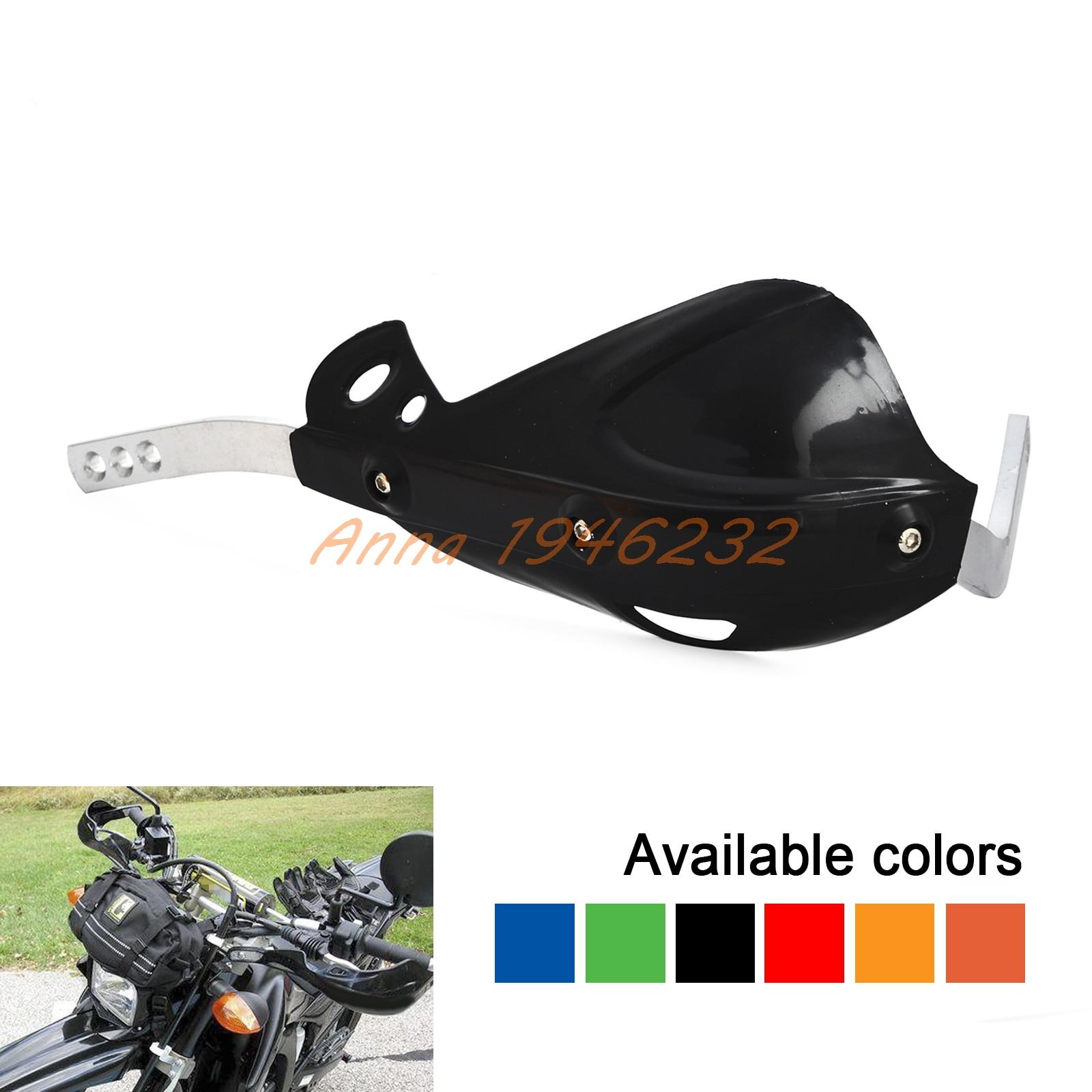 7/8 Motorcycle Dirt Bike ATV Brush Bar Hand Guard Handguard Protector For Honda Kawasai KTM Suzuki Yamaha Motorcross motorcycle brush bar hand guards handguard motorbike 7 8 22mm for kawasaki kxf 250 yamaha ktm yamaha raptor 700 honda f3