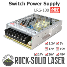 все цены на Switching Power Supply 100W Switch Power Supply Meanwell LRS-100 3.3V 5V 12V 15V 24V 36V 48V Original Product Wholesale онлайн