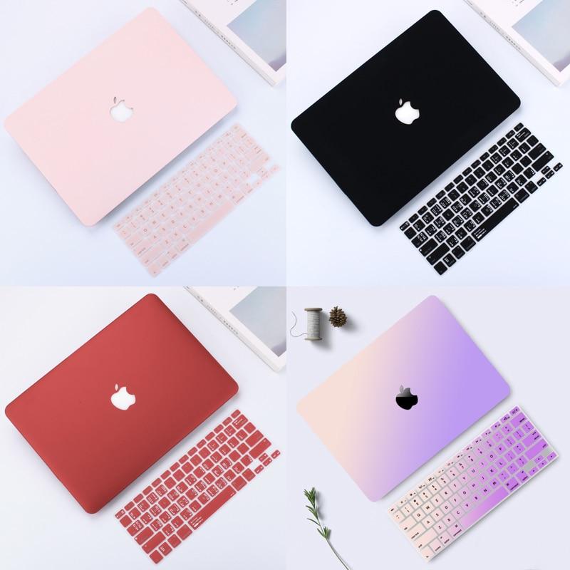For Macbook Laptop Case 14 inch Shell Case For APPle MacBook Air Pro Retina 11 12 13 15 mac Book A1369 / A1466 Laptop Matte Case