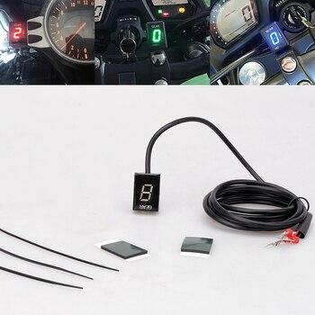 For Kawasaki Z750 Z1000 2007 2008 2009 Z 750 1000 Motorcycle LED Electronics 1-6 Level Gear Indicator Moto Speed Digital Meter