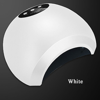 48W Dual UV LED Nail Lamp Nail Dryer Gel Polish Curing Light with Botton 10s/30s/60s Timer
