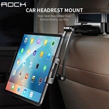 Rock Auto Achterbank Tablet Stand Hoofdsteun Mount Houder voor iPad Air 2 3 4 5 6 Mini 1 2 3 Tablet PC Houders Voor Xiaomi Huawei Pad