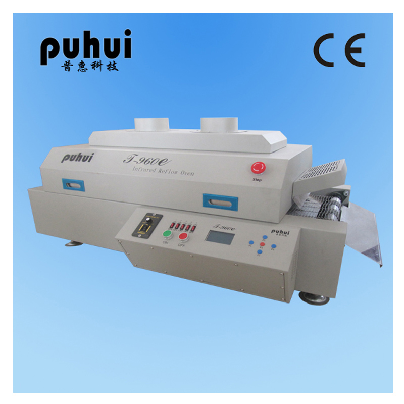 цена на Authorized Puhui T-960E LED SMT Reflow Oven T960e Channel Infrared Reflow Oven T 960e Soldering Station