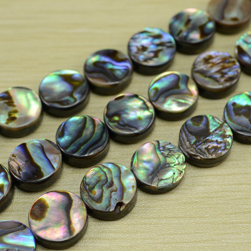 9-10mm Natural Round Cultured Freshwater Pearl Beads GREY  AA GRADE P5 X10