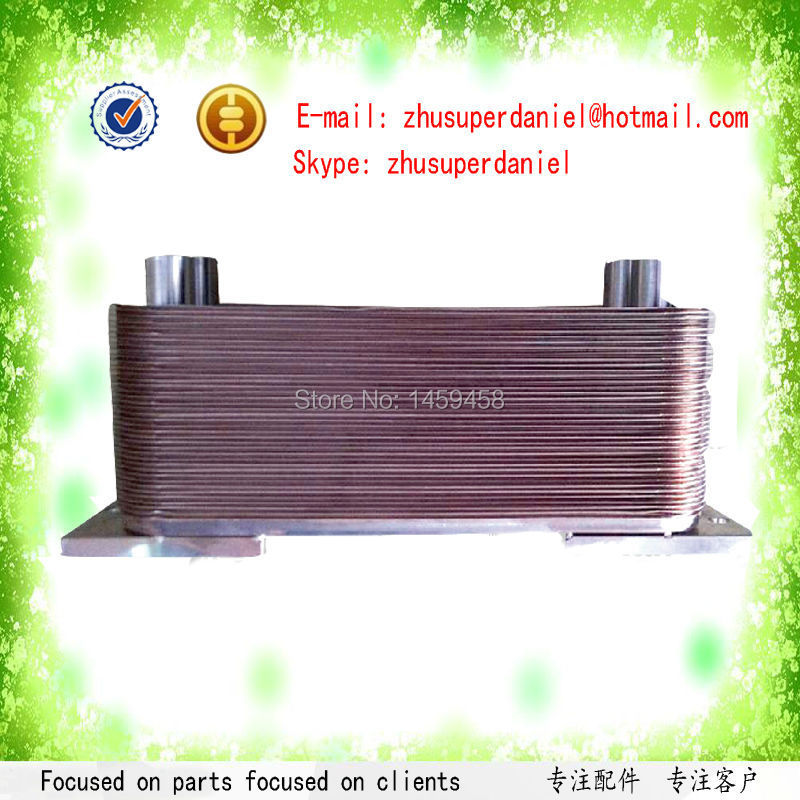 Wholesale copper material water cooled oil cooler assembly 1621401403 for ZR160-275 oil free machine new hydraulic oil cooler for kobelco sk04 machine