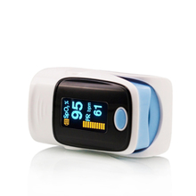 Health Fingertip Pulse Oximeter Oximetro Blood Oxygen Saturation Monitor with Carrying Case and Lanyard CE FDA Approved