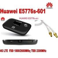 Новые разблокировать huawei e5776s 601 4G LTE FDD TDD Беспроводной маршрутизатор 150 м Wi Fi Модем + Крытый новый 4G LTE антенна MIMO 49dBi