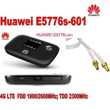 New Unlock Huawei E5776s-601 4G LTE FDD TDD Wireless Router 150M Wifi Modem+Indoor New 4G lte MIMO antenna 49dBi unlock 150mbps huawei e5577 4g lte mobile wifi router support lte fdd and tdd network band 3 740 fdd 1800 260 plus 2pcs antenna