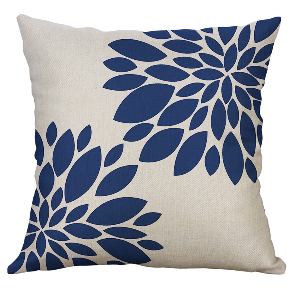 Linen Blend New Design Cushion Cover