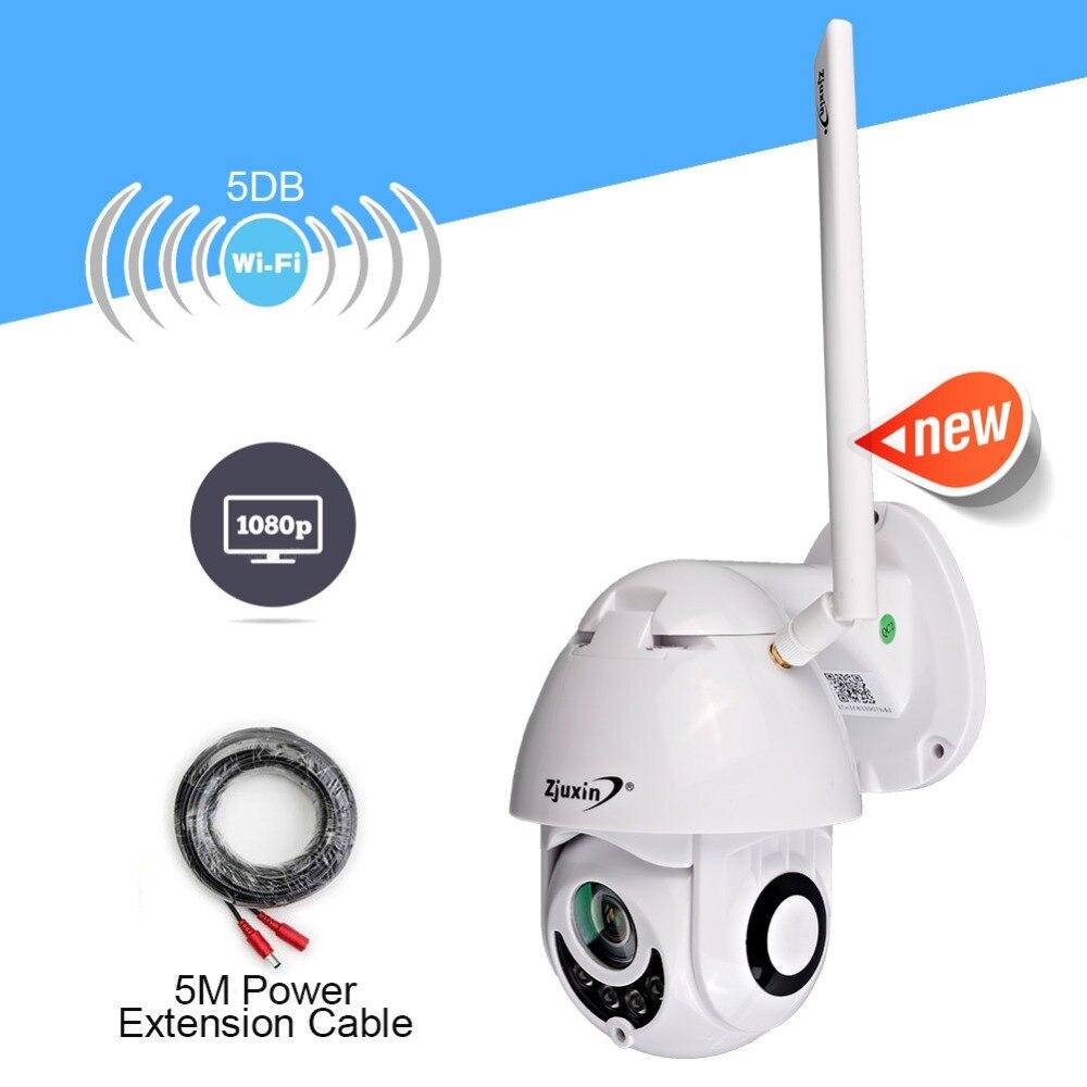 Caméra IP 1080P Surveillance WiFi caméra CCTV réseau moniteur enregistrement étanche intérieur/extérieur deux voies Audio panoramique inclinaison