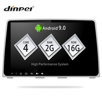 Dinpei 9 Car Multimedia Player for Hyundai Sonata 2017 2018 car Radio GPS Navigation Stereo Audio Android 9.0 PX30 2G+16G