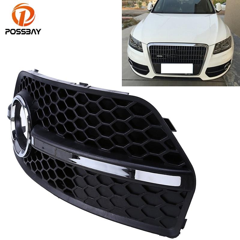 POSSBAY Black Car Front Lower Bumper Grille Fit Audi Q5(8R