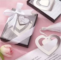 20PCS My Heart Bookmark For Home Party Favor Baby Bridal Shower Souvenirs Wedding Favors and Gifts For Guest