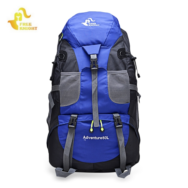 3bf4f6f6a923 FREEKNIGHT 50L Outdoor Backpack Camping Bag Waterproof Mountaineering  Hiking Backpacks Molle Sport Bag Climbing Rucksack