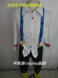 Image 3 - ורוד/לבן Juzo Suzuya Rei טוקיו ר טוקיו גורו קוספליי Cos תלבושות Juuzou Suzuya מלא סט (חולצה + מכנסיים + פלטה + נעליים + צועד)