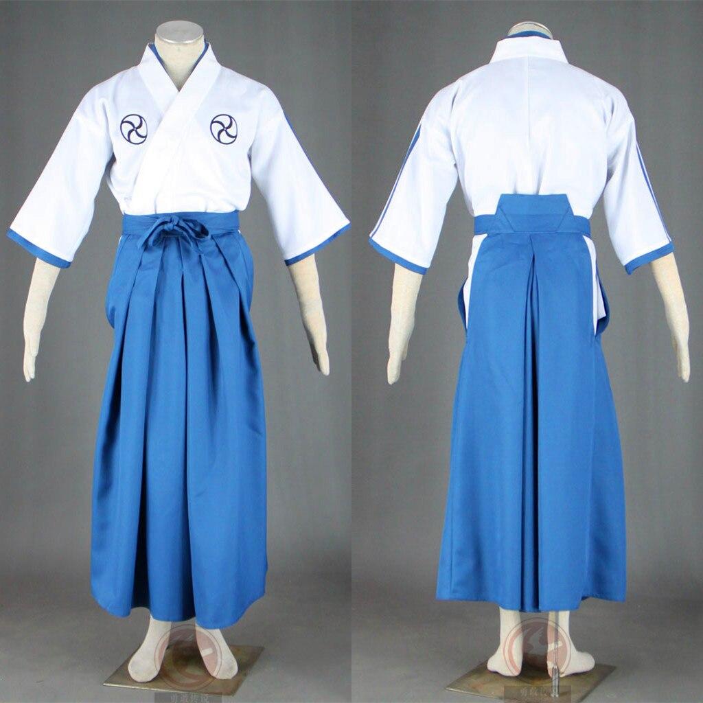 Uniforme d'école Cool eau de javel Hitsugaya Toushiro Costume de Cosplay Kimono, pantalon