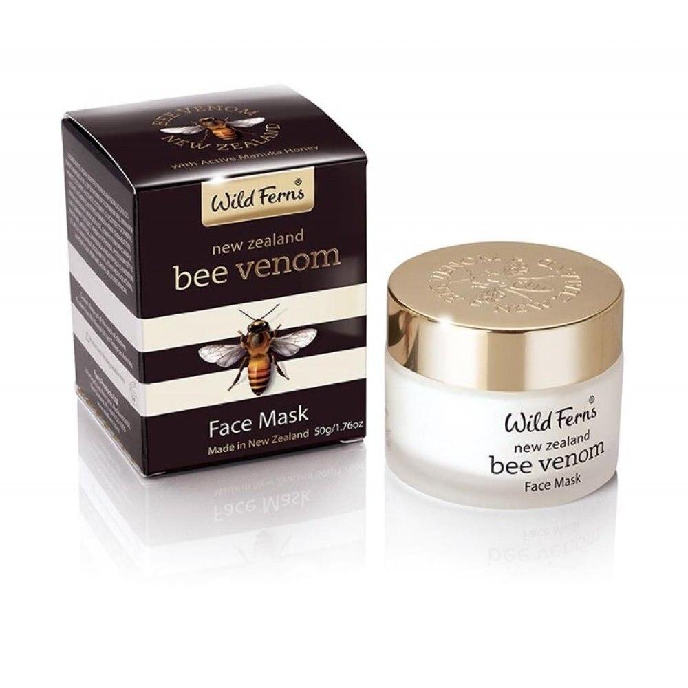 Details about Wild Ferns New Zealand Bee Venom Face Mask Active Manuka Honey 50g гели wildferns смягчающий гель для глаз new zealand manuka honey soothing eye gel с медом манука 15 мл