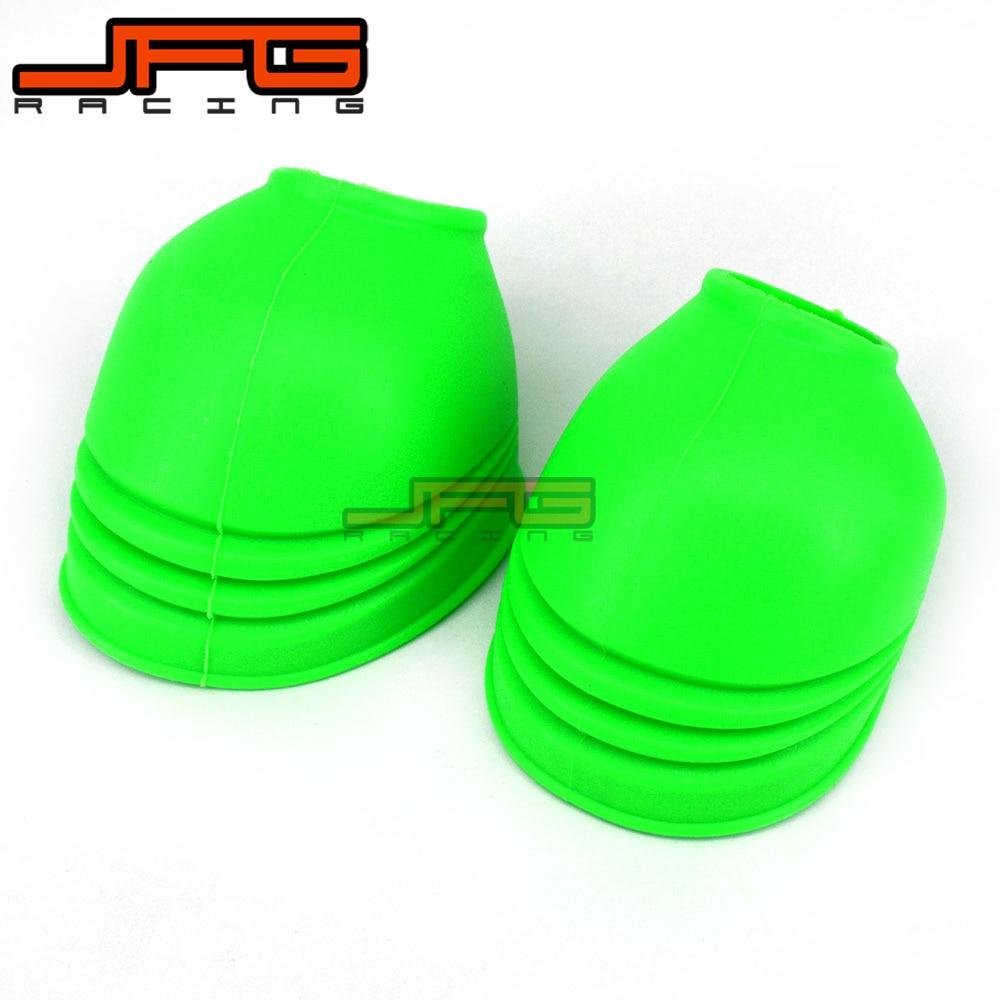 Rubber Foot Peg Rest Footpeg Anti Dust Cover Guard Protector For KX65 KX85 KX125 KX250 KX500 KX250F KX450F KLX450R KLX150 KLX250 morais r the hundred foot journey