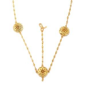 Image 4 - Ethlyn Groothandel Ethiopische Sieraden Sets Goedkope Bridal Bloem Party Vier Stuks Bruiloft Sets Afrikaanse Gold Plating Accessoires S323