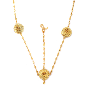 Image 4 - مجموعات مجوهرات أثيوبية بالجملة من Ethlyn رخيصة لحفلات الزفاف مكونة من أربع قطع مجموعات زفاف مطلية بالذهب الأفريقي إكسسوارات S323