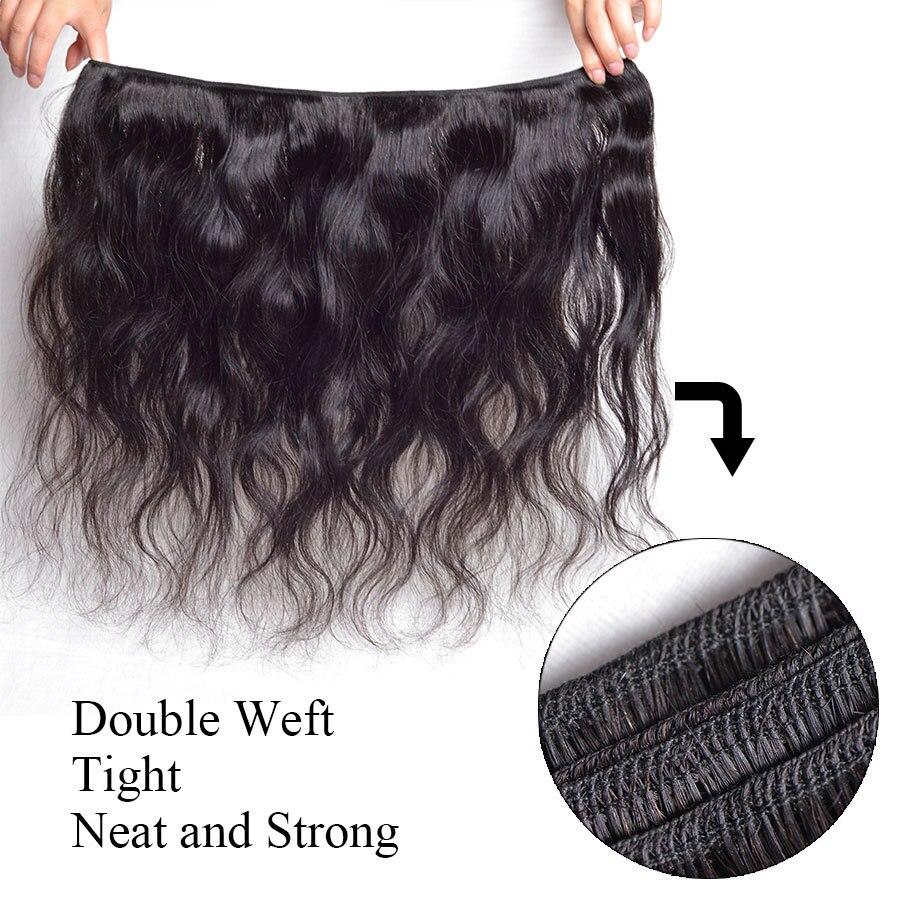 Brazilian Hair Weave Bundles Gossip Body Wave Human Hair Extension 3pcs Virgin Hair Bundles Natural Color Weave Hair