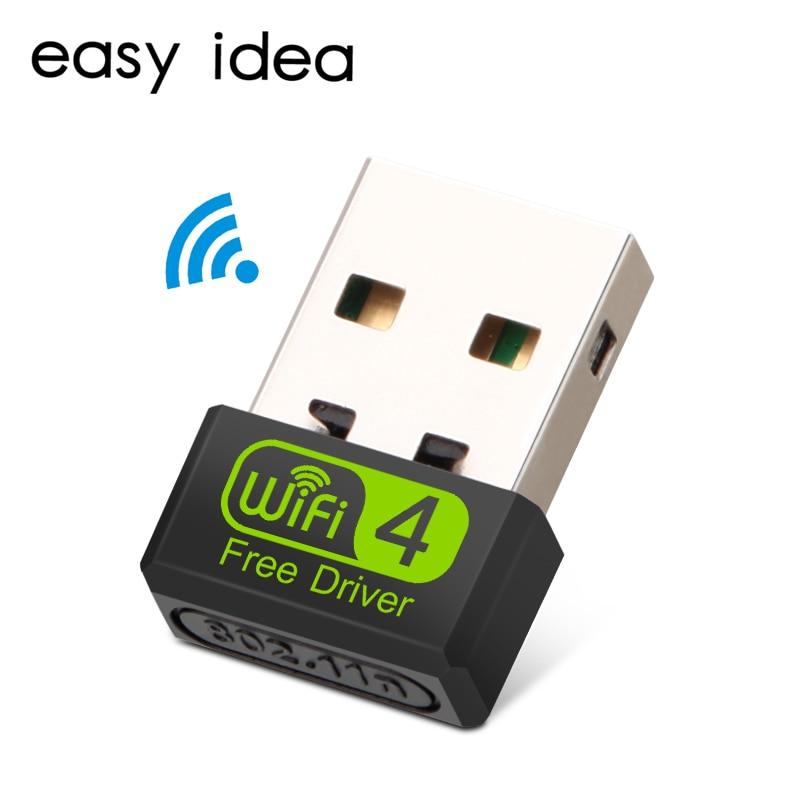 Mini USB Wifi Adapter Wifi USB Ethernet Wi Fi Adapter Wi-Fi Dongle 150 Mbps USB Lan Network Card 2.4G Wireless PC Wifi Receiver