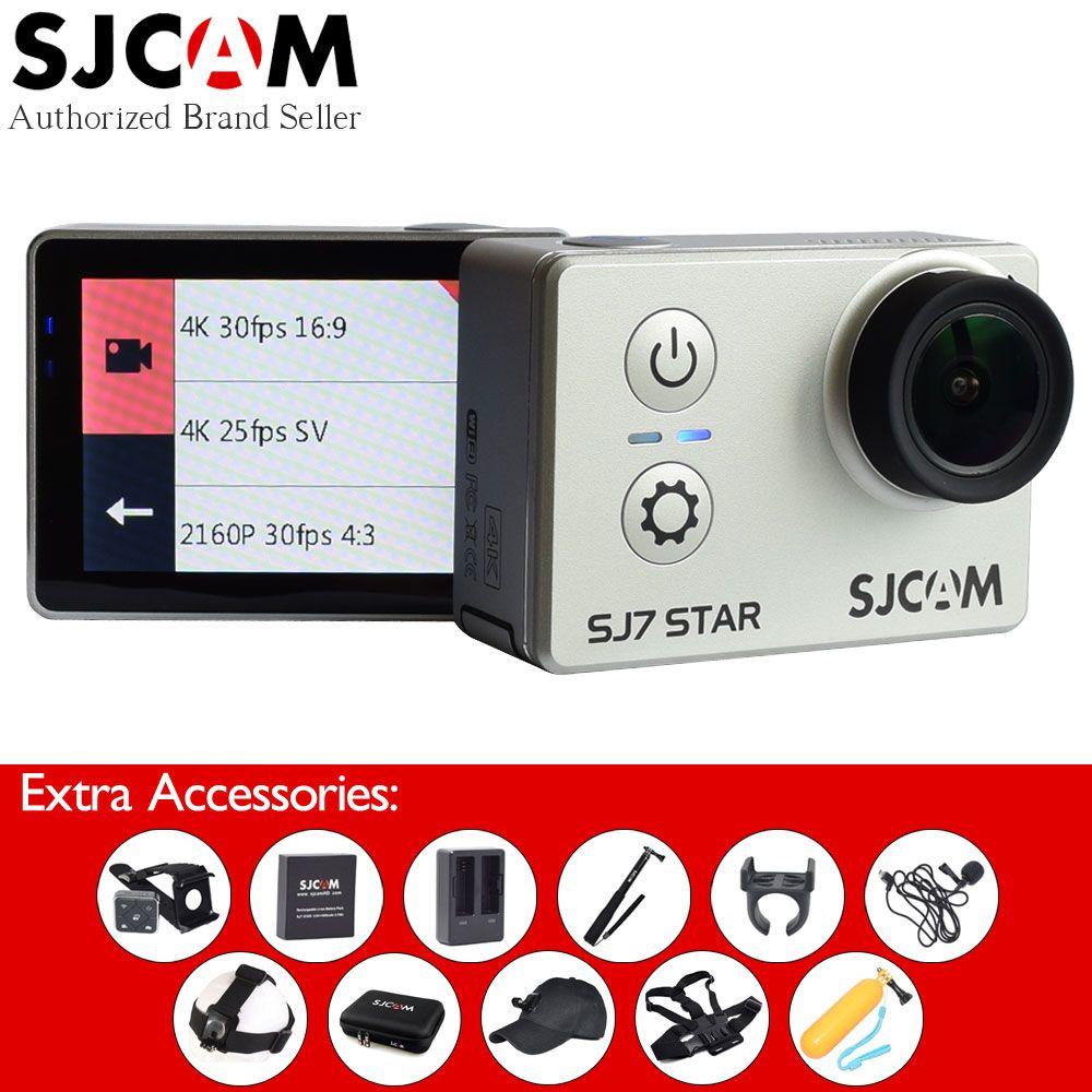 Original SJCAM SJ7 Star 4K 30fps Wifi 2 Touch Screen Ambarella A12S75 Action Camera SJ 7 Newest Remote Sport Camcorder Car DVR