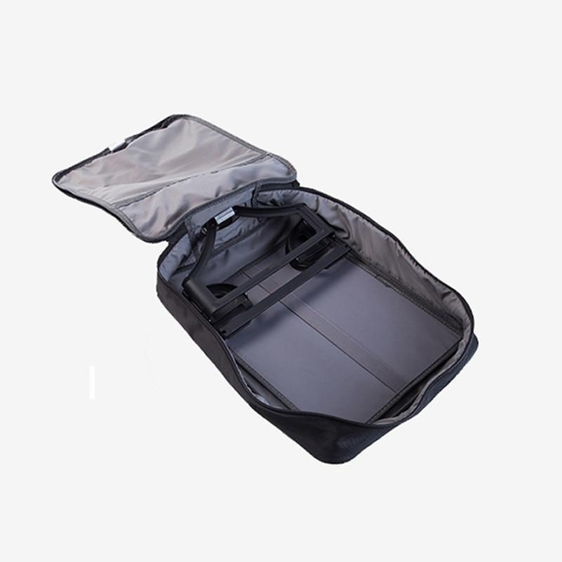 Creative voyage organisateur costume couverture suspendus vêtements anti-poussière couvre valise portable accessoires de haute qualité hommes costume sac