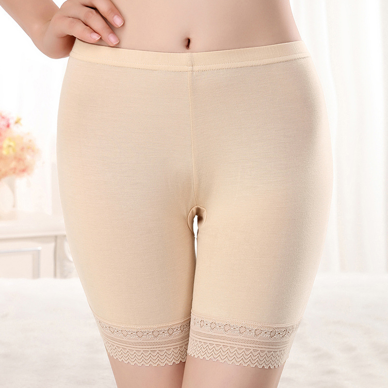 Sexy Lace Plus Large Size Safety Shorts Pants Seamless Soft Comfortable Pantiesant Women Panties Shorts Under Skirt Underwear