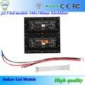 Цена от производителя 2.5 мм пикселей полноцветные SMD из светодиодов модуль в помещении 1/16 сканирования 160 X 160 мм 64 X 64 пикселей точки 1RGB P2.5 крытый из светодиодов дисплей