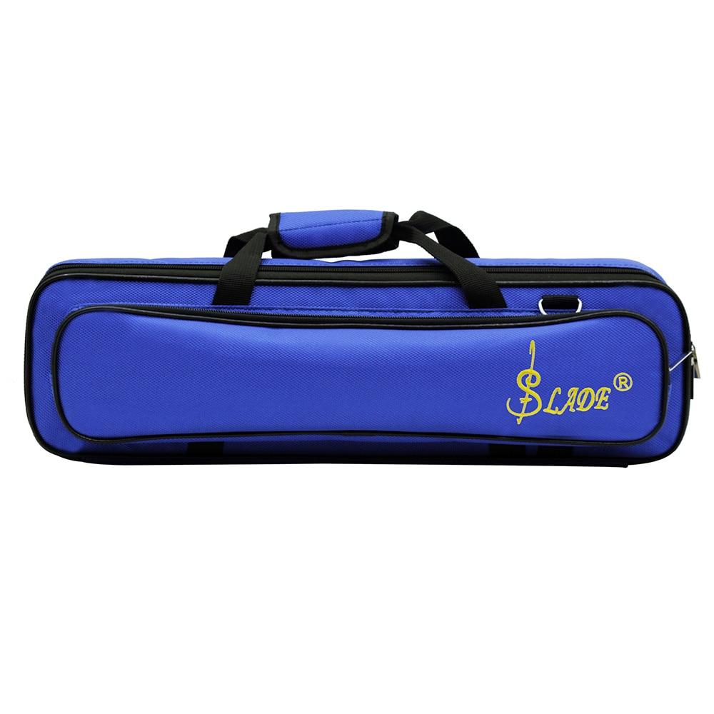Hot Koop Lade Gewatteerde Fluit Tas Rugzak Soft Case Lichtgewicht Met Carry Handvat Schouderriem