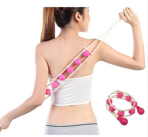 1 Piece Manual Massage Belt Arm Leg Waist Body Muscle Relax Body Slimming Roller Massager Body Care Roller bekker доска разделочная bekker bk 9709 rylru91