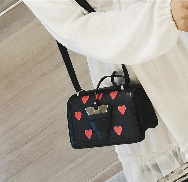 RUILANG 2018 New Womens Fashion PU Leather Handbags Female Messenger Bag Ladies Tote Bag Designer Brand Shoulder Cossbody Bag