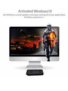 Stick Computer Micro Pc Intel Atom Mini Pc Licenced Quad-Core Win10 Window10 Z8350 Linux