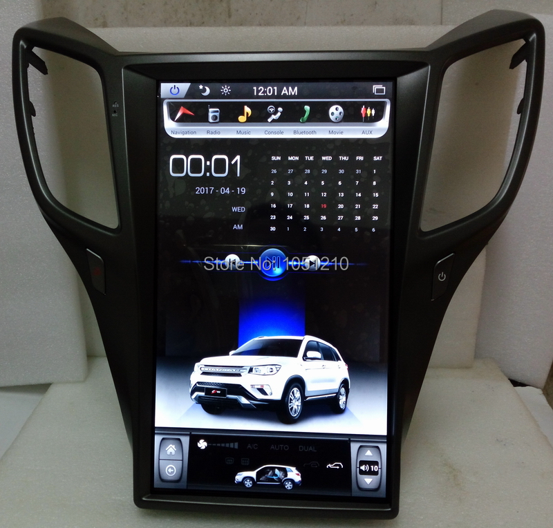 Ouchuangbo Android 6.0 lecteur multimédia gps navigation radio pour ChangAn CS75 avec 14 pouces Tesla écran vertical 2GB RAM + 32GB ROM