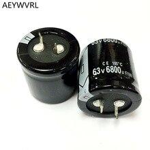 Condensateur électrolytique en aluminium, 63V, 6800UF, 30x35MM