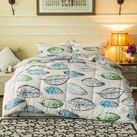 2016 Winter Comforter Cotton Printed King Size 220 240cm Quilt Queen 200 230cm Duvet Soft Warm