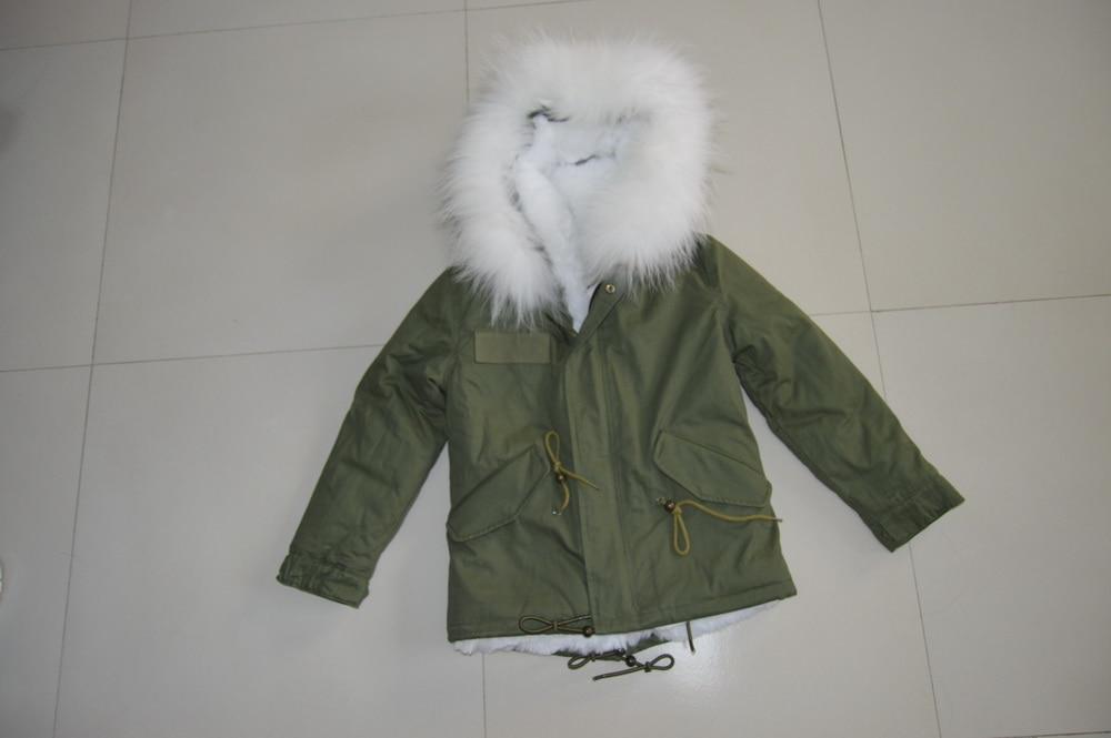 buy popular a7617 39faa Invernale Piumini Cappuccio Pelliccia Cappotti Bambini Con ...