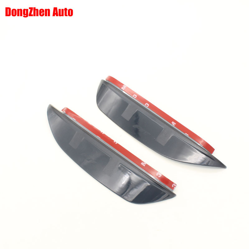 1Pair Rearview mirror rain eyebrow reflective mirror side mirror rain visor accessories For Honda Fit