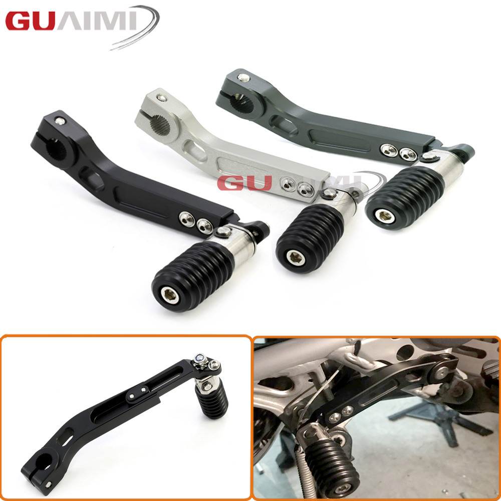 Motorcycle CNC Aluminum Adjustable Folding Gear Shifter Shift Pedal Lever For BMW R1200GS 2005-2012/ R1200GS ADV 2006-2013 bjmoto motorcycle cnc adjustable folding gear shift lever shifter brake pedal for bmw r1200gs lc r1200gs adv 2014 2016