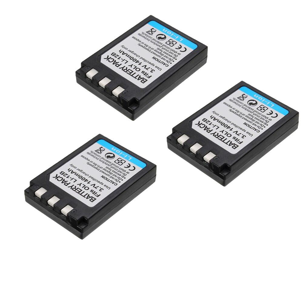 Power batería li-10b li-12b para olympus c-760 ultra zoom