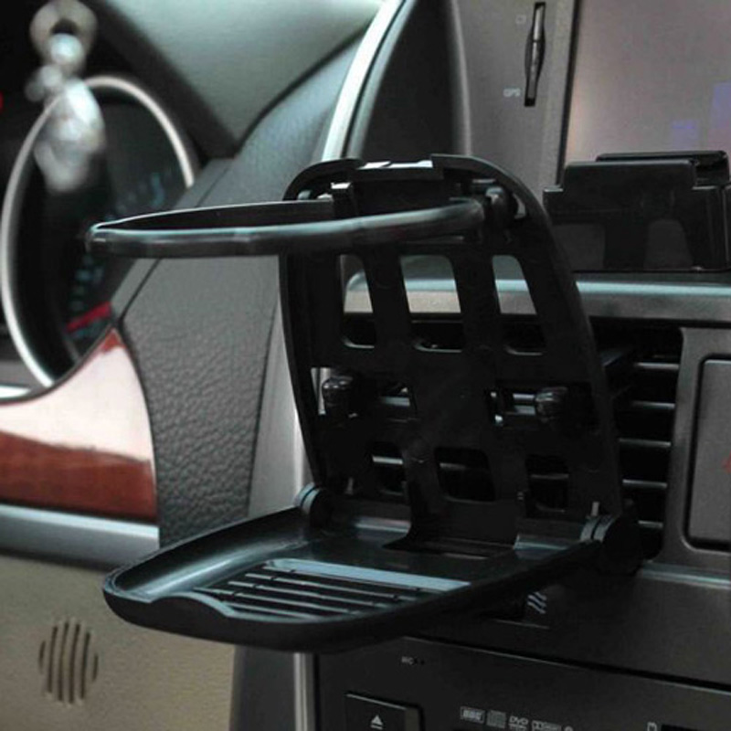 Hypersonic Car Drink Holder Accessories Drinks Cup Beverage Gadgets Foldable Stand Plastic