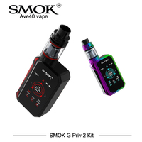 In Stock Electronic Cigarettes SMOK G Priv 2 Kit Smok G Priv II Vaporizer Vape 230w with 4ml TFV8 X Baby Tank Touch Vape E Cigs