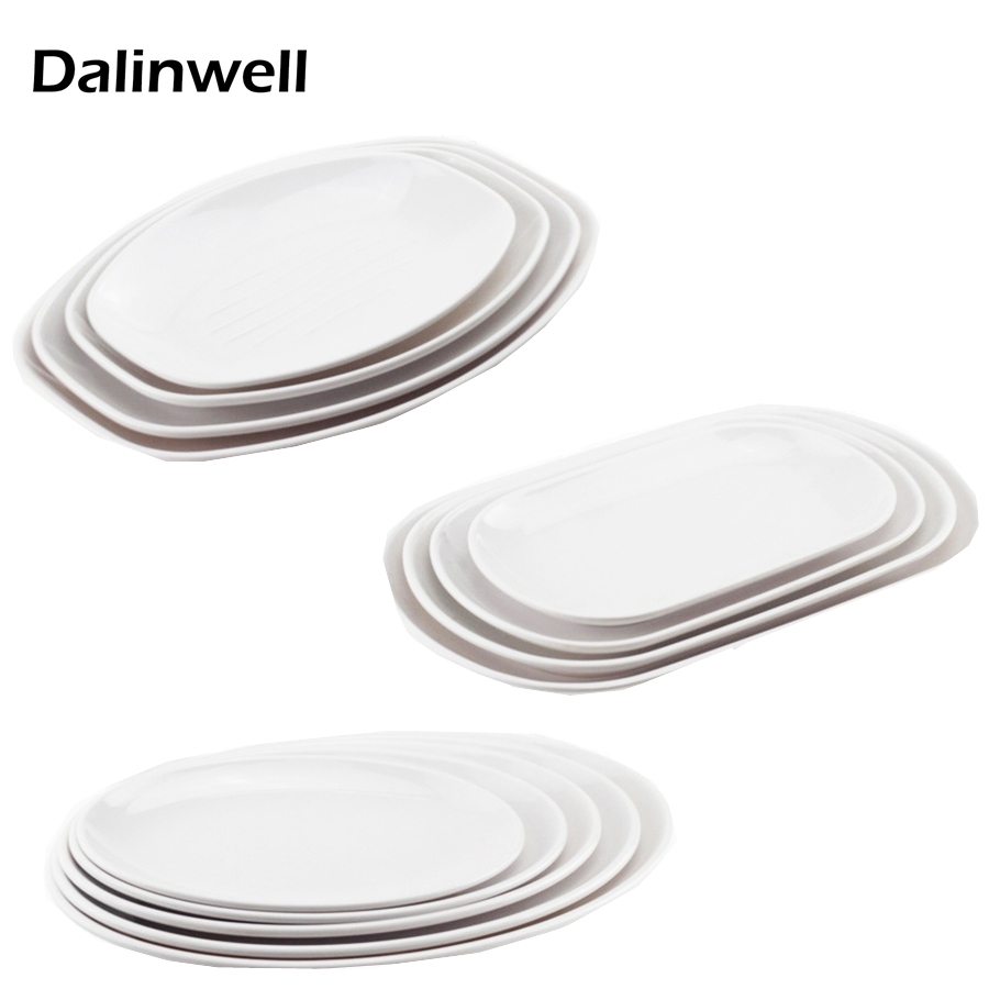 1PCS Eco Friendly Cheap Hotel Buffet Breakfast White Plates Japanese Design 100% Melamine Non toxic Odorless Sushi Dishes Tray-in Dishes \u0026 Plates from Home ...  sc 1 st  AliExpress.com & 1PCS Eco Friendly Cheap Hotel Buffet Breakfast White Plates Japanese ...