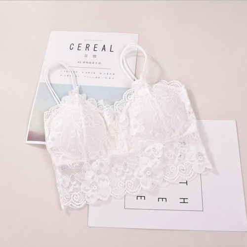 Женская одежда Hirigin, 2019, кружевной жилет для уборки груди, бандо, для девушек, женский укороченный женский жилет, женское нижнее белье