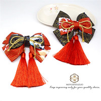 Lolita Headwear Bow Handmade Original Design Hair Accessories Chinese Style Kimono accessories