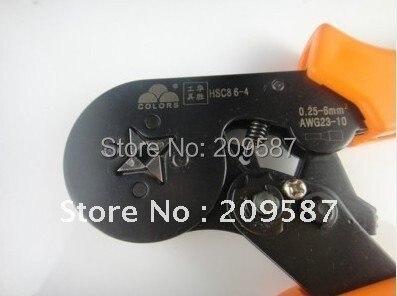 HSC8 6-4 мини-регулируемые плоскогубцы AWG 23-10