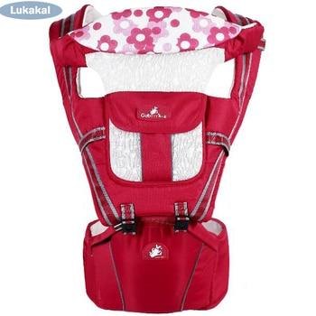 Multifunctional Baby Sling Wrap Carrier Back Board Horizontal Cotton Newborn Baby Carrier Toddler Kids Baby Kangroo BackPack Backpacks & Carriers