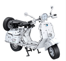 7067 594Pcs Genuine Technic Series  Pedal motorcycle Bricks Toys Building Blocks Compatible legoINGLYS Brick Kids Gifts