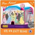 Newest надувные принцесса замок комбо, Надувной замок дом детская площадка игрушки